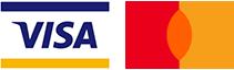 Visa & Mastercard Logos